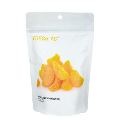 Mandarinklyftor, hela Frystorkad frukt
