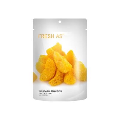 Mandarinklyftor, hela (Snacks) Frystorkad frukt