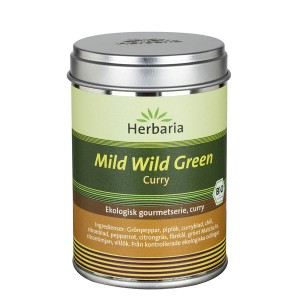 Mild Wild Green curry EKO
