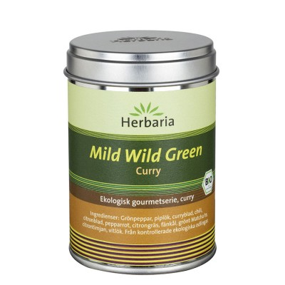 Mild Wild Green, Grön curry EKO