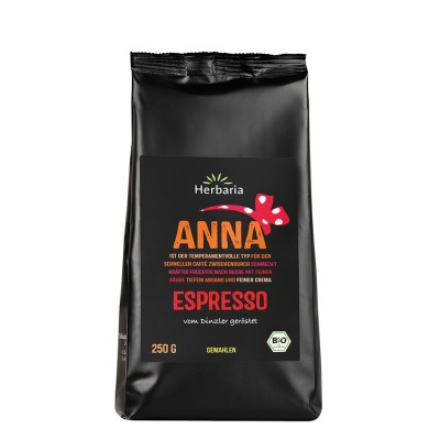 Anna Espresso, malda bönor 250g Kaffe