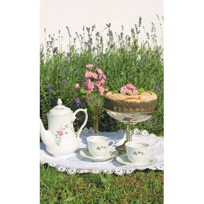 Grandma Bollas lavender sugar cake