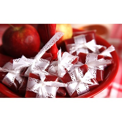 Lingonberry toffee