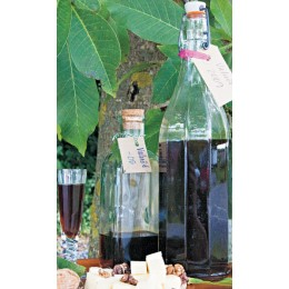 Walnut schnapps and liqueurs