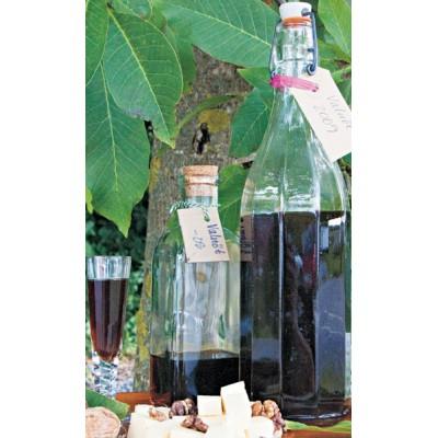 Walnut schnapps and liqueurs
