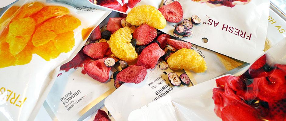 frystorkad frukt från Fresh as